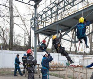 обучение работе на высоте